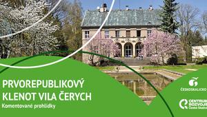 Prvorepublikový klenot Vila Čerych